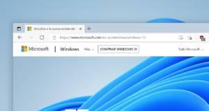 Diseño de Microsoft Edge en Windows 11