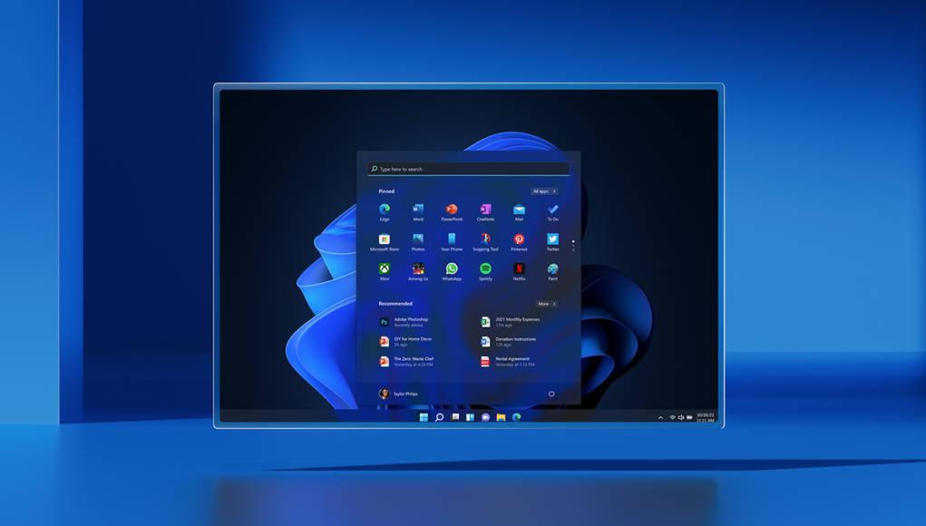 Imagen promocional de Windows 11